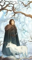 GoT - Jon Snow by Dreki-K