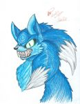 Sonic the Werehog Color by sonicwerehoglover124