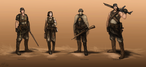 WWI Elite Team by PeterPrime