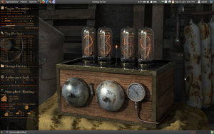 conky steampunk by BeSlayed