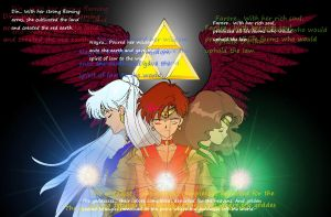 Triforce Sailors Story Version by BluSilvrPaladin