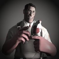 Medic Portrait Pale - Team Fortress 2 by DieKeksRebellion