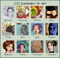 2010 Summary of Art by rocketdave