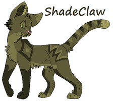 ShadeClaw by Honey-PawStep