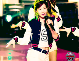 SNSD TaeYeon PSD by Kpopified