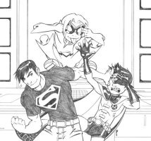 Young Justice by chrismunro