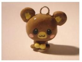 Monkey necklace by poring-lover