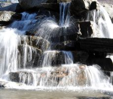 Waterfall - stock 2 by Angband