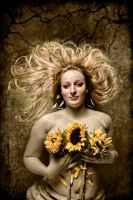 Sunflower by CurvedLightStudio