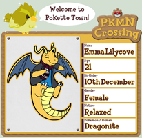 PKMN Crossing Application - Emma by CyndersAlmondEyes