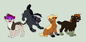 Saber Kitten Adopts by Amazing-Max