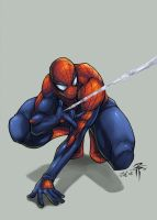 ::Overdue Spidey Foo-ColorsMe: by IvyBeth