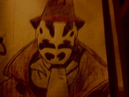 Rorschach Sketch by TheGezishOne