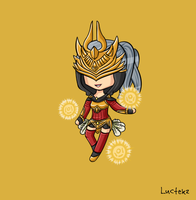 Justicar Syndra by Luctekz