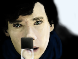 Sherlock - Eyes by beth193
