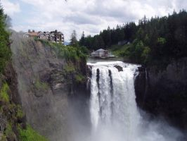 Snoqualmie Falls Stock by Stoked-Stock