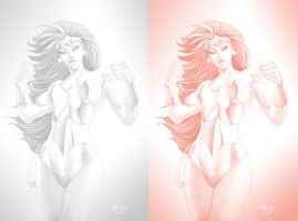 Wonder Woman-evl by ErikVonLehmann
