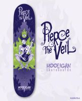 Pierce the Veil Skateboard Design by Nemons
