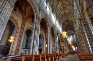 Uppsala Cathedral by HenrikSundholm