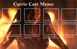 Carrie Cast Meme by Detective88