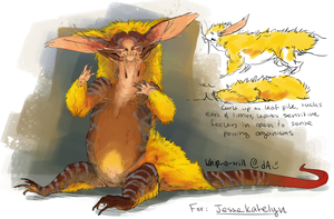 Autumn Gremlin [design trade] by Whip-o-will