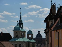 Over the roofs of Nuremberg by andersvolker