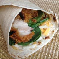 Leftover Chicken Wrap by dragoon811