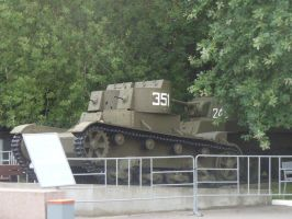 T-26 Early two-towered version by Garr1971