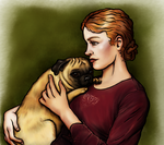 Pug by oingy-boingy