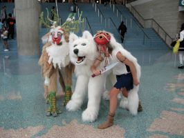 AX 2010- Princess Mononoke by Allmypower