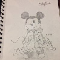 Mickey Mouse Doodle by FantasyRebirth96