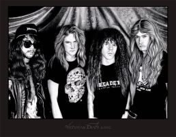 Megadeth by victoriandeath