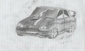 Impreza sketch by Assassin659