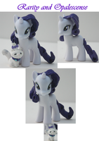 .:Custom Rarity with Opalescence MLP:. by alltheApples