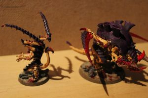 Lictor and Carnifex by Kartza96