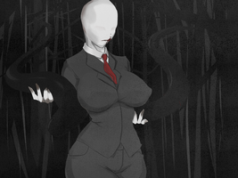 Slender Womanclothed by Ein457
