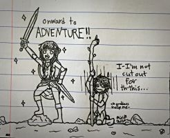 ADVENTURE! by TheLadyOfBlack