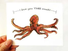 Octopus - I Love You This Much by sobeyondthis