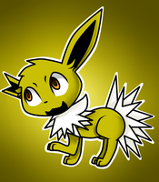 Good Eeveening can I Jolteon your tea for today by FlareMor