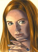 Amy Pond by Marc137
