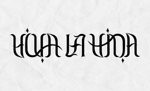Ambigram - Viva La Vida by Philipp-JC