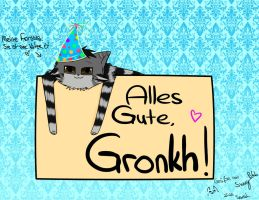 Alles Gute, Gronkh! by SunnyBlub