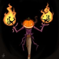 The Pumpkin King by chikinrise
