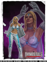 WWE Immortals - Trish Stratus (White Witch) by DatKofGuy