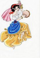 Snow White as Esmeralda I by Chalaya