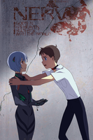 Confirming Ayanami Rei by skimlines