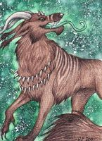 ACEO Trade: Lord Mordaran by Agaave