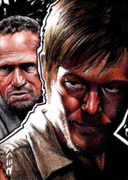 Daryl Dixon and Merle - Walking Dead by J-Redd