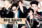 BIG BANG PNG PACK by NotinFiction