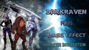 MASS EFFECT Character Intro Thumbnail by TaintedVampire
